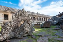 Preah Vihear Kambodża, Dec, - 03 2016: Preah Vihear świątynia fama Zdjęcie Stock