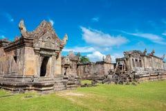 Preah Vihear, Kambodja - 03 Dec 2016: De Tempel van Preahvihear een fam royalty-vrije stock foto