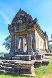 PREAH VIHEAR TEMPEL ett världsarv av det Cambodja kungariket av under Arkivfoto