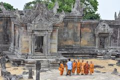 Preah Vihear Temple. Cambodia royalty free stock images