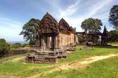 Free Preah Vihear Temple Is Located In A Pleasant Environment With An Attractive Countryside Slightly East Of The Mid Section Of The Do Royalty Free Stock Photo - 119556115