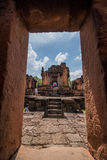 Angkor Wat in the sunny afternoon stock photos