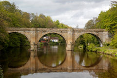 Prebends Bridge Reflection Royalty Free Stock Images