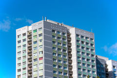 Precast apartment buildings Royalty Free Stock Photos