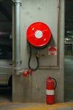 Precaución de fuego Imagen de archivo libre de regalías