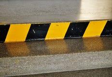 precaución de las escaleras Fotografía de archivo