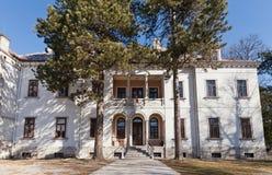 Precedente ambasciata Austriaco-ungherese in Cetinje, Montenegro Immagini Stock