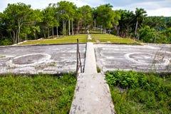Precedente azienda agricola del caffè, Buena Vista, Eco-villaggio di Las Terrazas, Cuba, Pinar Del Rio Pro Fotografia Stock Libera da Diritti