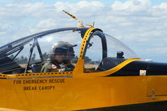 Precedente istruttore di RAAF - CT4 Fotografie Stock