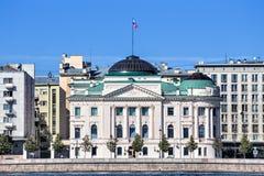 Precedente palazzo di grande Duke Nicholas, St Petersburg, Russia Immagine Stock