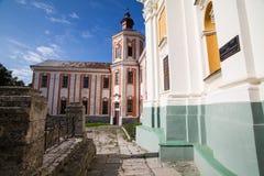 Precedenti monastero della gesuita e seminario, Kremenets, Ucraina Fotografia Stock Libera da Diritti