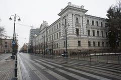 Precedenti sedi di KGB Fotografia Stock Libera da Diritti