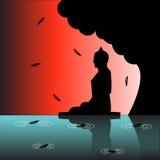 Precetti e meditazione fotografie stock libere da diritti