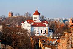 Prechistensky Cathedral Royalty Free Stock Images