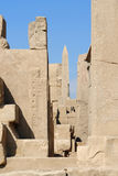 Precinct of Amun-Re in Egypt Stock Photo