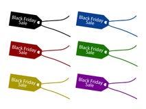 Precio de Black Friday para la estación de las compras de la Navidad Imagen de archivo libre de regalías