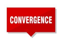 Precio de la convergencia stock de ilustración
