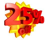 precio del 25 por ciento del descuento