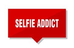 Precio del adicto a Selfie ilustración del vector