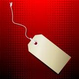 Precio del vector Imagen de archivo libre de regalías