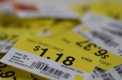 precios Imagen de archivo