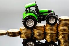 Precios crecientes en agricultura Fotos de archivo libres de regalías
