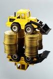 Precios crecientes en el sector de la construcción Imagen de archivo libre de regalías
