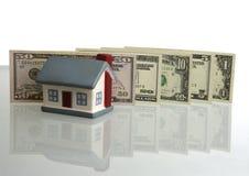 Precios de la subida en las propiedades inmobiliarias Imagenes de archivo