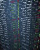Precios de las acciones stock de ilustración