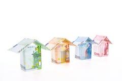 Precios de las propiedades inmobiliarias Imagen de archivo libre de regalías
