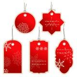 Precios del invierno del nad de la Navidad Imagenes de archivo