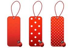 Precios del Ladybug Foto de archivo libre de regalías