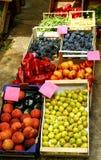 PRECIOS - mercado de Mediteranian Imagen de archivo