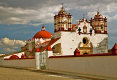Preciosa Sangre de Cristo Church, Teotitlan Image stock