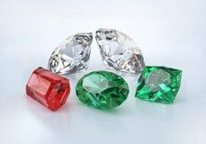 Precious beautiful stones Stock Image