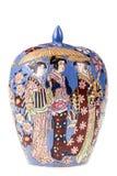 Precious china vase Royalty Free Stock Photography
