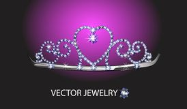 Precious diadem. Royalty Free Stock Photos