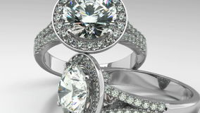 Precious Diamond Rings stock video