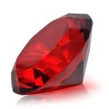 Precious diamond. On white background Royalty Free Stock Photos