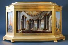 Precious furniture at Tsarskoye Selo Royalty Free Stock Photography