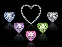 Precious hearts Stock Photos