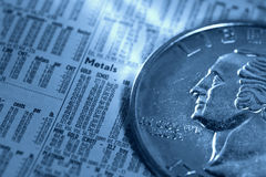 Precious Metals Stock Photos