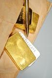 Precious metals trading. Stock Image
