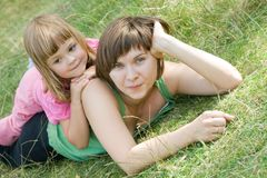 Precious moments together Royalty Free Stock Photo