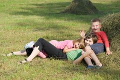 Precious moments together Royalty Free Stock Photography