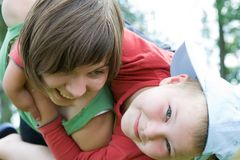 Precious moments together Royalty Free Stock Image
