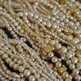 Precious pearls closeup Royalty Free Stock Image