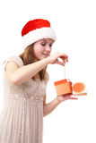 Precious present Stock Photography