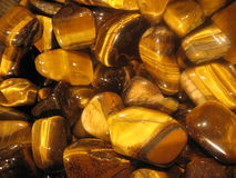 Precious stone brown Stock Images
