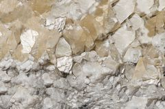 Precious stone rock crystal,texture. Background royalty free stock image